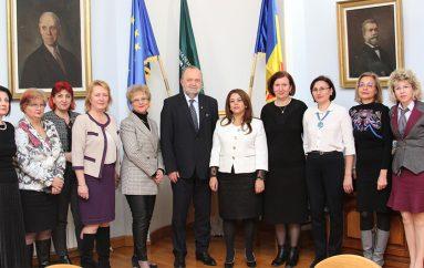 Ambasadorul Tunisiei, în vizită la UMF Iași