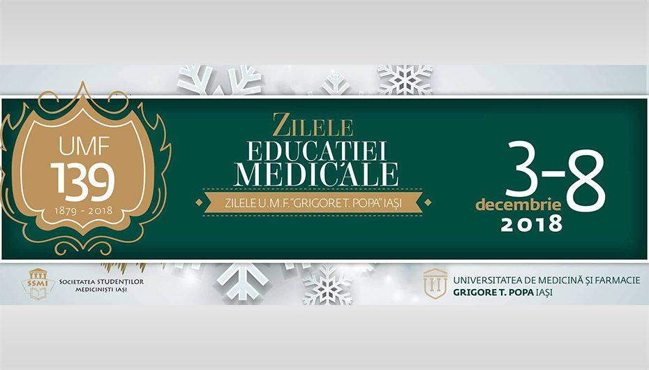 Zilele Educației Medicale 3-8 decembrie 2018