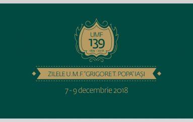 Zilele UMF Iași 2018: sărbătoarea excelenței în educația medicală!