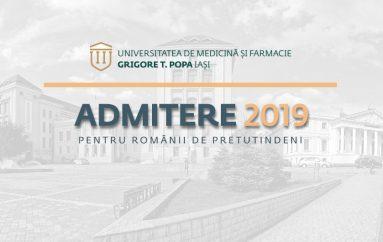 Metodologia și calendarul concursului de admitere pentru românii de pretutindeni