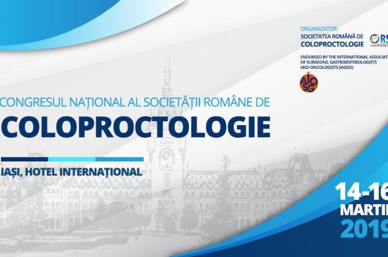 Iașul, gazda celei de-a IX-a Ediții a Congresului Național al Societății Române de Coloproctologie