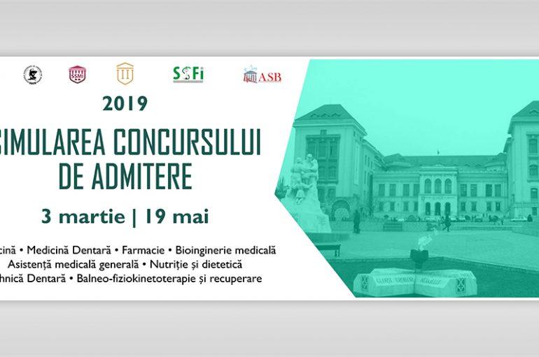 1350 de candidați înscriși la prima ediție a Simulării Concursului de Admitere la UMF Iași