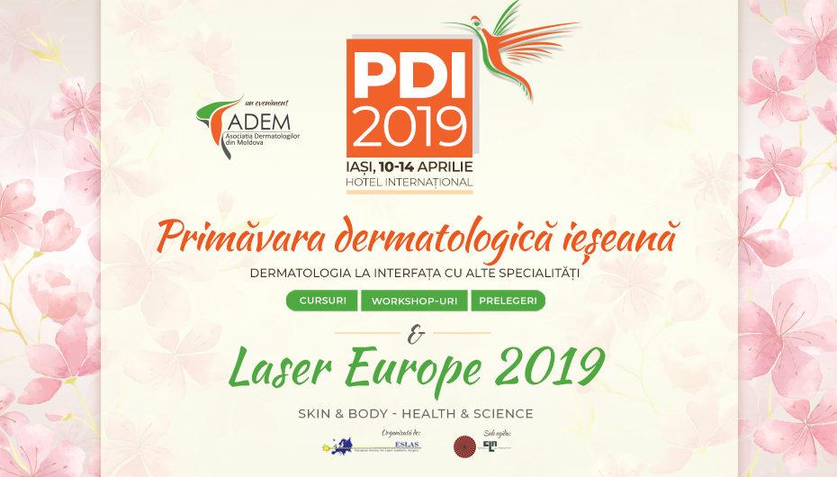 Primăvara Dermatologică Ieşeană 2019