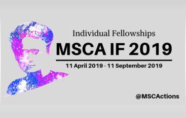 Individual Fellowships – MSCA IF 2019 open call