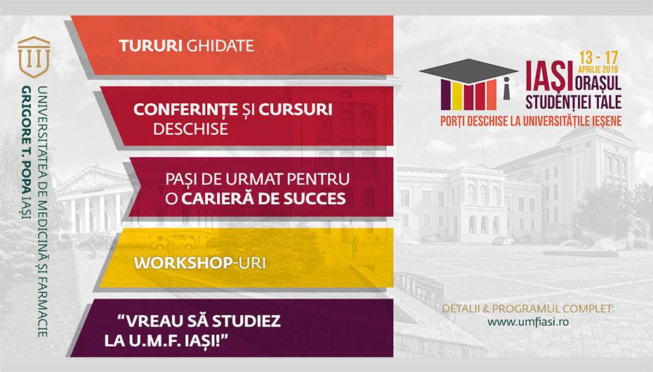 Peste 2000 de elevi s-au înscris pentru a vizita UMF Iași