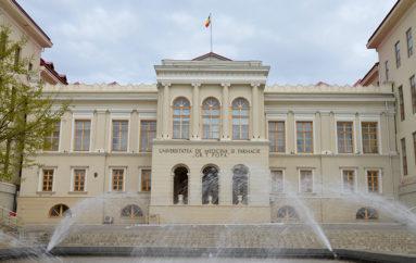 Festivitatea de deschidere a anului universitar la UMF Iași