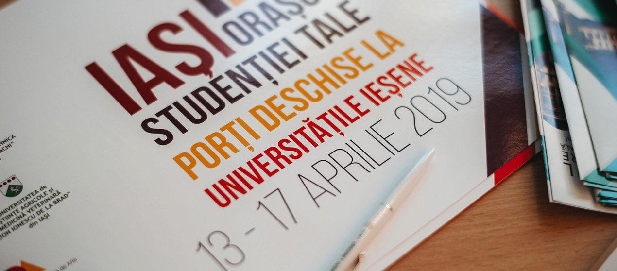 Peste 2000 de elevi au vizitat UMF Iași, la Zilele Porților Deschise
