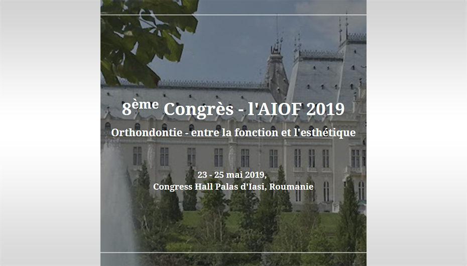 Cea de-a VIII-a ediție a  Congresului Internaţional de Ortodonţie va avea loc la Iași