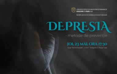 "Conferința ""Depresia – metode de prevenție"""