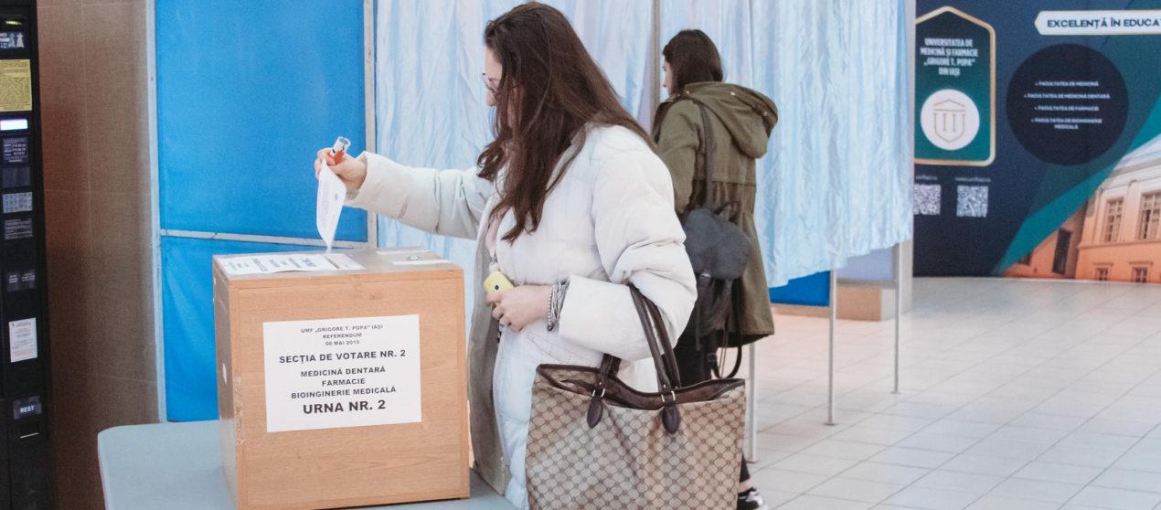 """REZULTAT REFERENDUM: Rectorul Universității de Medicină și Farmacie """"Grigore T. Popa"""" din Iași va fi ales prin vot"""