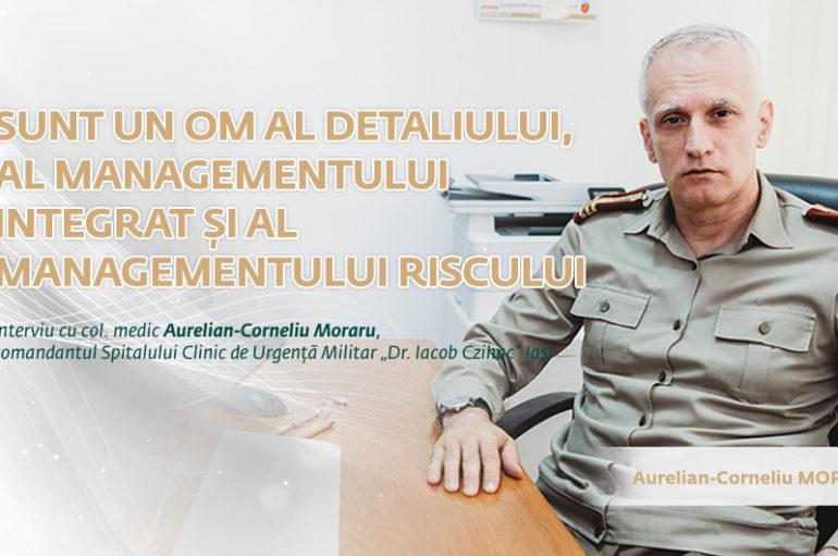 """""""Sunt un om al detaliului, al managementului integrat și al managementului riscului"""""""
