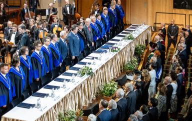 Rectorul UMF Iași, invitat al Universității Semmelweis, cu ocazia ceremoniei de deschidere a anului universitar
