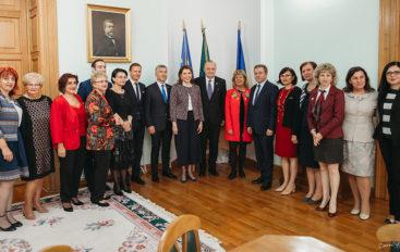 Ambasadorul Franţei în România, pentru a treia oară în vizită la UMF Iași