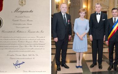 UMF Iași a primit Decorația Regală Nihil Sine Deo