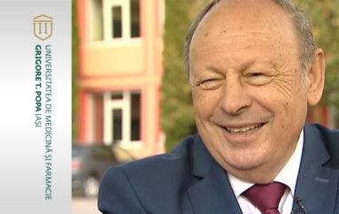 UMF Iași acordă titlul de Doctor Honoris Causa Domnului Doctor Herman Berkovits