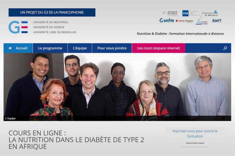 Cursuri online: Nutriția în diabetul de tip 2 în Africa