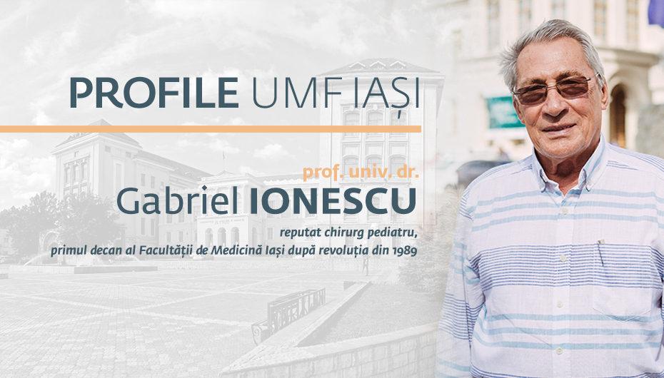 """Prof. univ. dr. Gabriel Ionescu: """"Cel mai mic copil pe care l-am operat avea 430 de grame"""""""