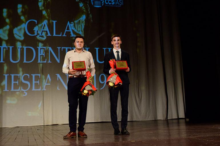 """Trei studenți UMF-iști, premiați la """"Gala Studentului Ieșean"""""""