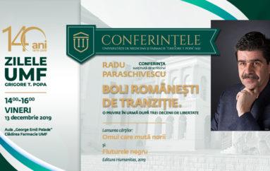 """""""Boli româneşti de tranziţie. O privire în urmă după trei decenii de libertate"""""""