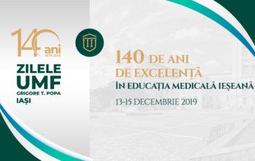 Zilele UMF Iași: Programul științific
