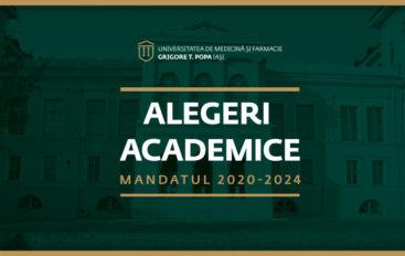 Ministerul Educației și Cercetării l-a confirmat pe domnul prof. univ. dr. Viorel Scripcariu în funcția de rector al UMF Iași