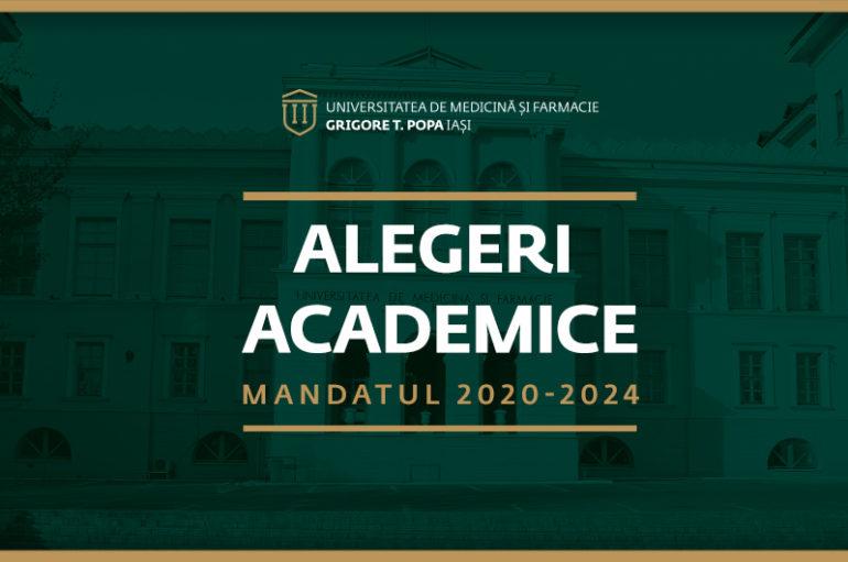 Rezultatul alegerilor academice din 16 ianuarie 2020
