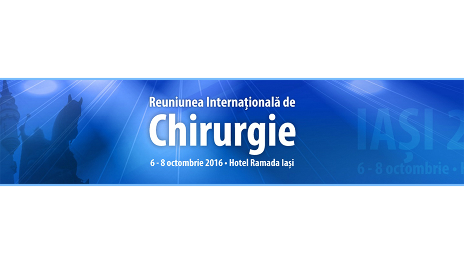 """Reuniunea Internationala de Chirurgie"", in octombrie, la Iasi"