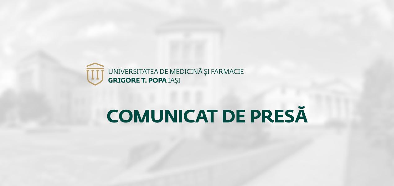 """Distributia locurilor pentru admiterea de anul acesta la Universitatea de Medicina si Farmacie """"Grigore T. Popa"""" Iasi"""