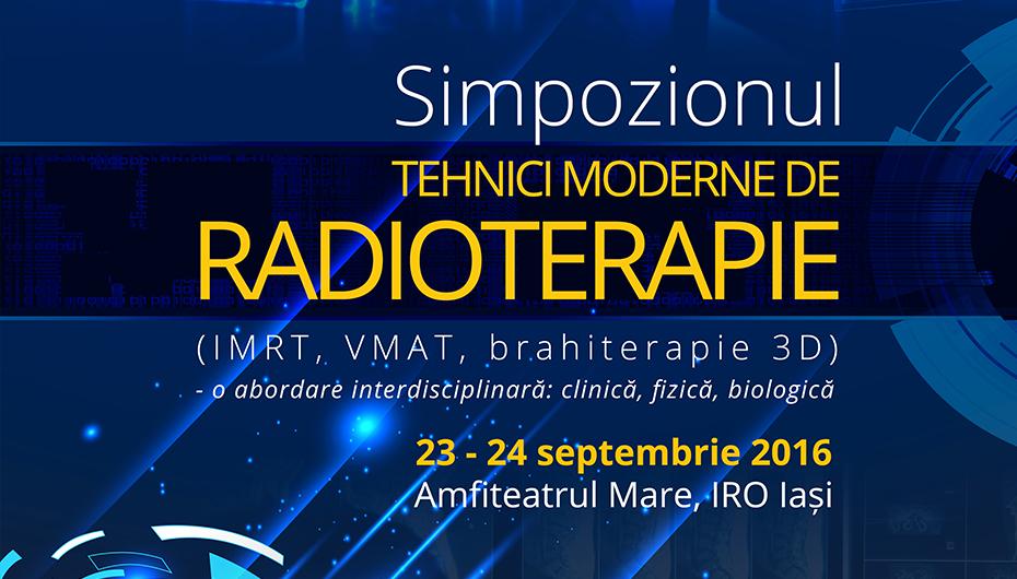 """Prima editie a simpozionului """"Tehnici moderne de radioterapie"""""""