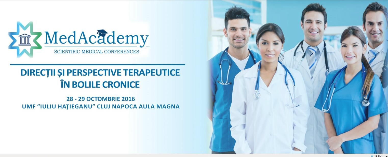 """Conferinta Interdisciplinara MedAcademy – """"Directii si perspective terapeutice in bolile cronice"""""""