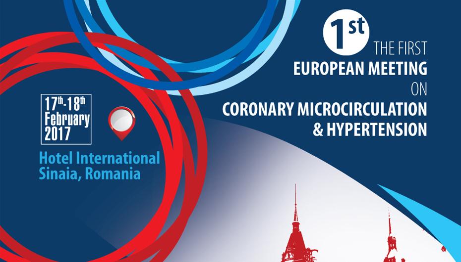 Prima Conferință Europeană de Microcirculație Coronariană și Hipertensiune