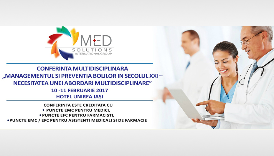 Conferinta Interdisciplinara MedDEX la Iasi