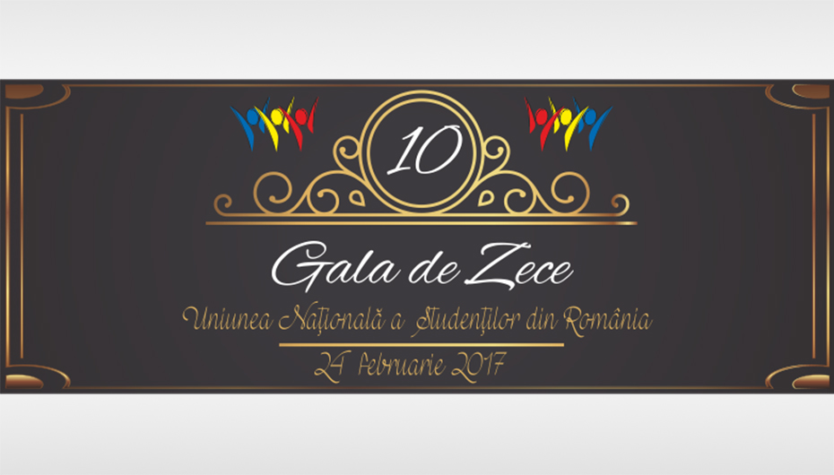 Uniunea Nationala a Studentilor din Romania premiaza zece studenti de nota 10