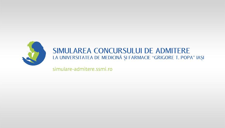 Simularea concursului de Admitere UMF Iași 2017