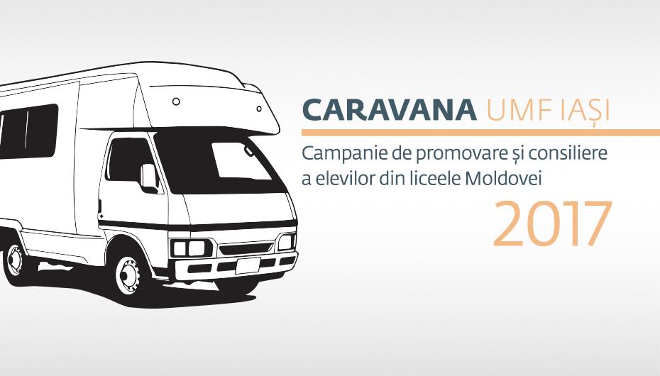 Caravana UMF Iași își continuă traseul prin Moldova: Suceava, Botoșani și Vaslui