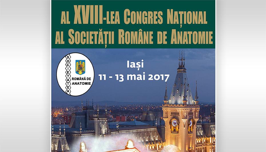Al XVIII-lea Congres Național al Societății Române de Anatomie