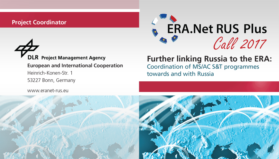 ERA.Net RUS plus |  Further linking Russia to the ERA: Coordination of MS/ AC S&T programmes towards and with Russia