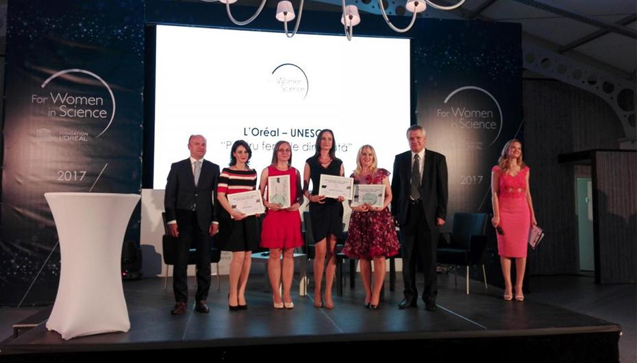 """Doctorandă a UMF Iași, laureată a programului L'Oréal – UNESCO """"Pentru femeile din știință"""""""
