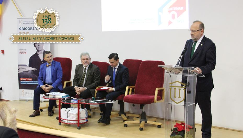 Ceremonia de deschidere a Zilelor UMF Iași 2017: Conferință, lansare de cărți și expoziții despre Marele Război