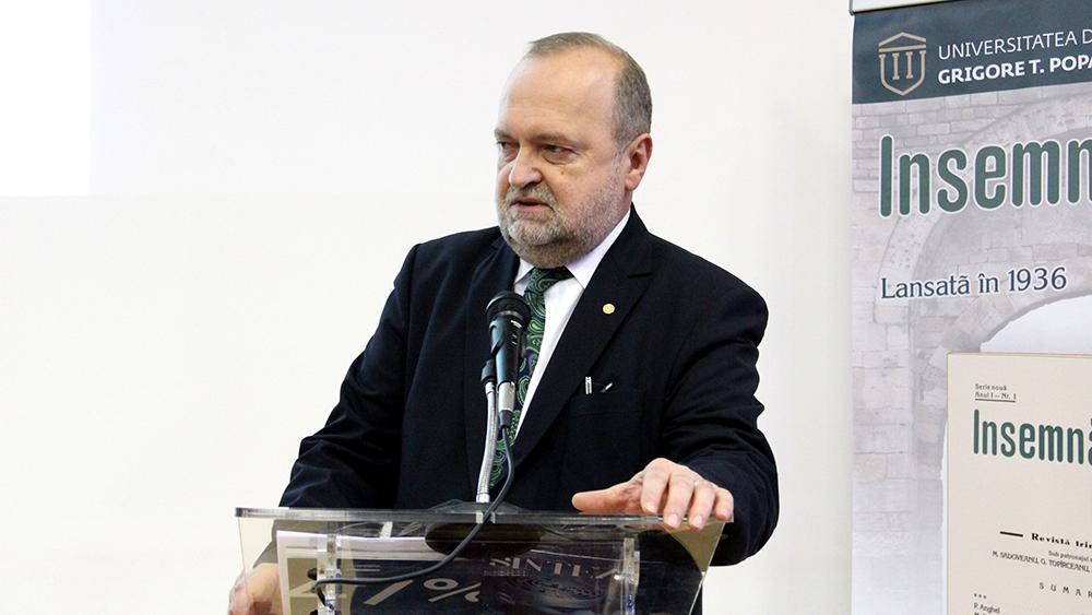 Rectorul UMF Iași, reales în Comitetul Executiv al Asociaţiei Şcolilor de Medicină Europene