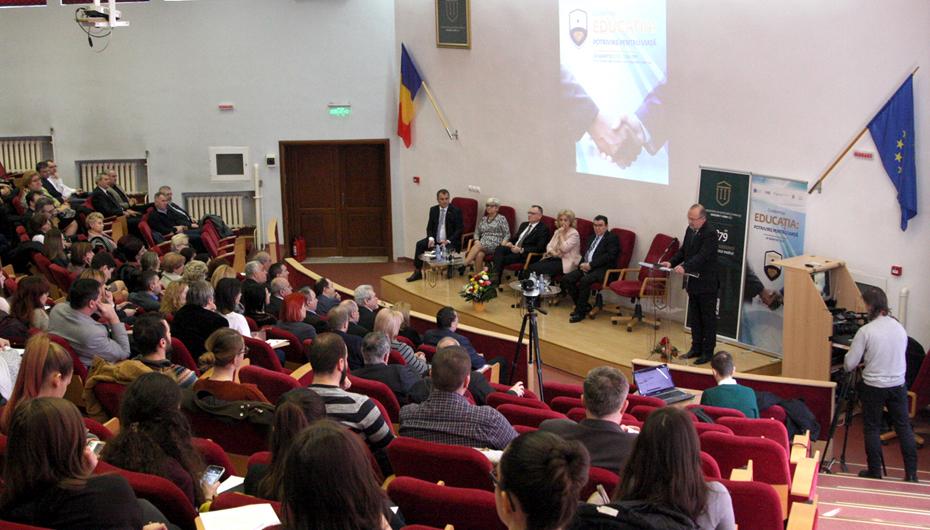 """Conferința națională """"Educația: Potrivire pentru Viață"""": """"România are nevoie de voi și voi aveți nevoie de România"""""""