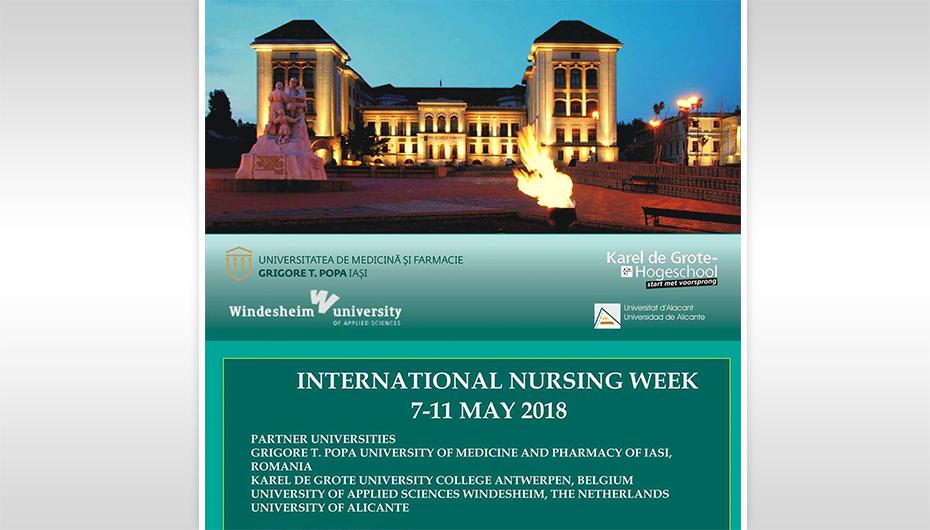 Săptămâna Internațională de Nursing, la UMF Iași