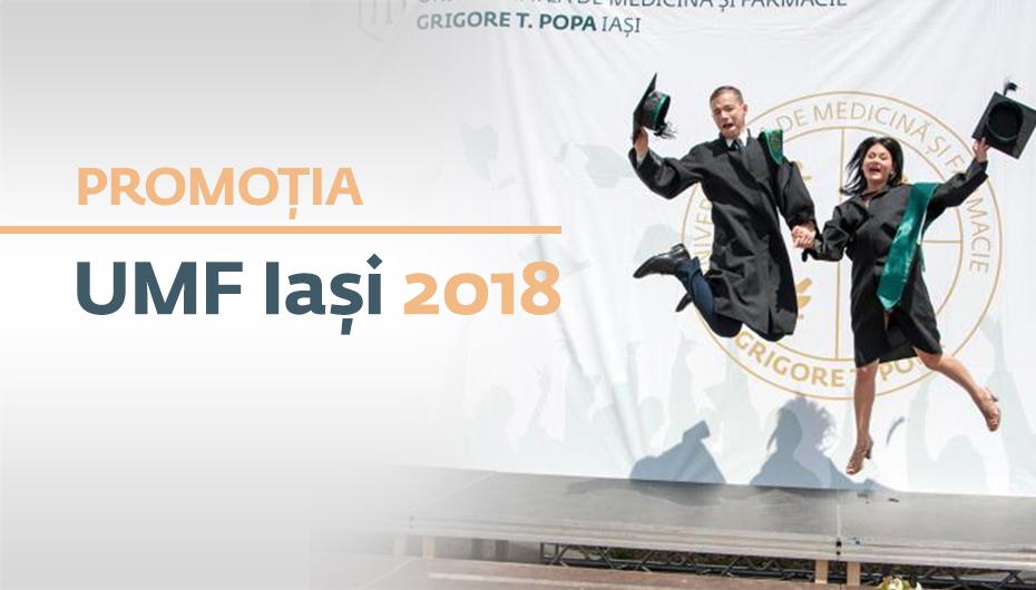 1.502 de absolvenți UMF Iași depun Jurământul lui Hipocrate