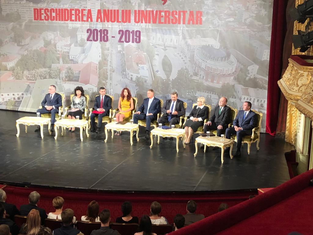 Moment istoric – prima deschidere comună a anului academic de către toate universitățile ieșene