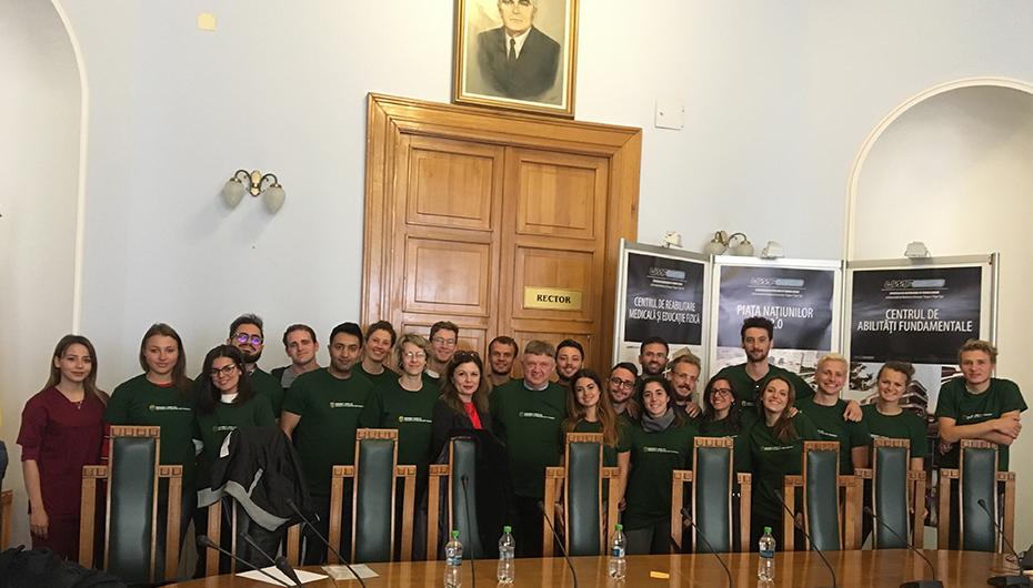Erasmus WELCOME DAY la UMF Iași