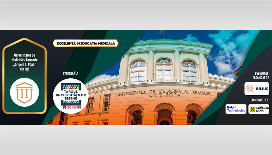 UMF Iași participă la Târgul Universităților Ieșene