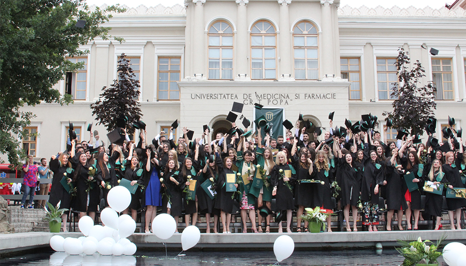 PROMOȚIA 2019 UMF Iași: 1702 de vise, 1702 de diplome, 1702 de povești
