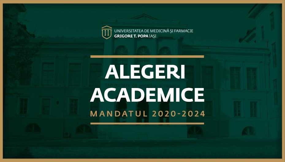 Zi de vot mâine la U.M.F. Iași