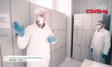 VIDEO | CEMEX UMF Iași – Ce se întâmplă într-un laborator care pune diagnosticul de COVID 19?