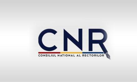 Comunicat de presă – Consiliul Naţional al Rectorilor – 10 aprilie 2020